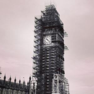 Big Ben in Scaffolds