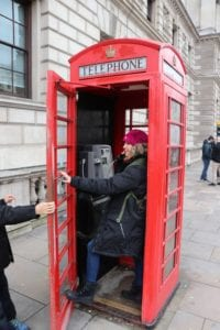Red Phone Booth Picture